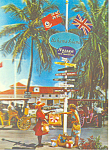 Click here to enlarge image and see more about item cs2920: Novel Sign Post, Rawson Square, Bahamas