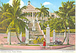 Click here to enlarge image and see more about item cs2923: Residence of Governor Bahamas cs2923