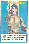 Click here to enlarge image and see more about item cs2941: Women of America Save Your Country WWI cs2941