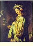 Saskia as Flora, Rembrandt Harmenzs Rijn