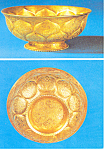 Click here to enlarge image and see more about item cs2969: Chinese Exhibition No 280 Gold Bowl Postcard cs2969