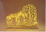 Click here to enlarge image and see more about item cs2973: Resting Warrior Lands of the Scythian Postcard cs2973