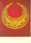 Pectorial with 48 Figures Lands of the Scythian Postcard cs2975