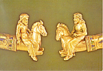 Scythians on horses on necklace detail
