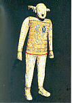 Jade Funeral Suit Chinese Exhibition No147 Postcard cs2979
