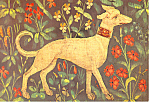 French Tapestry  XV Century Postcard cs2982
