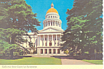 Click here to enlarge image and see more about item cs3009: State Capitol, Sacramento,California