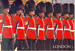 Click here to enlarge image and see more about item cs3021: London England Trooping The Color Buckingham Palace cs3021