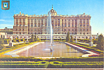 Click here to enlarge image and see more about item cs3062: Royal Palace, Madrid, Spain Postcard cs3062