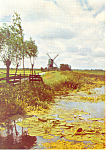 Click here to enlarge image and see more about item cs3066: Dutch Landscape, KLM Issued Card cs3066
