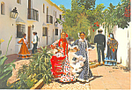 Typical Andulusian Scene,Costa Del Sol, Spain