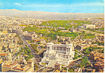 Click here to enlarge image and see more about item cs3089: Panorama View of Rome, Italy