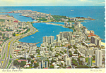 Click here to enlarge image and see more about item cs3176: Aerial View of San Juan,Puerto Rico