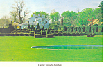 Ladew Topiary Garden Monkton MD Postcard cs3189