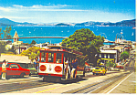 Click here to enlarge image and see more about item cs3259: Hyde Street Cable Car San Francisco  CA   cs3259