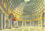 Click here to enlarge image and see more about item cs3269: Interior of the Pantheon Rome Italy cs3269