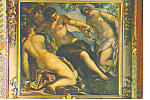 Venice Italy Ducal Palace The Three Graces Postcard cs3273
