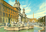 Click here to enlarge image and see more about item cs3278: Novona Square Rome Italy cs3278