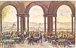 Click here to enlarge image and see more about item cs3300: Firenze Italy Pizzale Michelangelo Bar Ristorantia cs3300