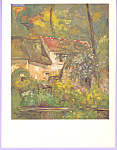 House of Pere Lacroix Paul Cezanne Postcard cs3309
