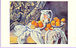 Still Life Paul Cezanne Postcard cs3313