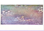 Les Nympheas Claude Monet Postcard cs3316