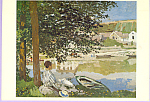 The River Claude Monet Postcard cs3320