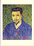 Portrait du docteur Ray Vincent Van Gogh Postcard cs3327