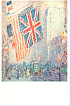 Click here to enlarge image and see more about item cs3354: The Union Jack, Childe Hassam