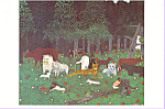 Holy Mountain III Horace Pippin Postcard cs3363