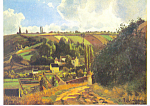 Click here to enlarge image and see more about item cs3365: La Cote du Jallais Camille Pissarro Postcard cs3365