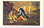 Tancred and Erminia Nicolas Poussin Postcard cs3370