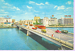 Click here to enlarge image and see more about item cs3377: MacArthur Bridge Mailia Philippines cs3377 Cars 1950s