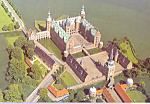 Click here to enlarge image and see more about item cs3460: Frederiksborg Castle Denmark Postcard cs3460