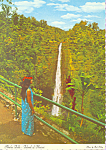 Click here to enlarge image and see more about item cs3479: Akaka Falls on Big island of Hawaii