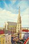 Click here to enlarge image and see more about item cs3494: St Stephens Cathedral, Vienna, Austria