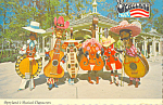Click here to enlarge image and see more about item cs3516: Opryland s Musical Characters cs3516