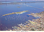 Click here to enlarge image and see more about item cs3522: Aerial View Newport,Rhode Island
