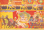 Click here to enlarge image and see more about item cs3551: Page from a Bhagavata Purana Series