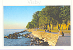 Click here to enlarge image and see more about item cs3587: Visby Gotland Sweden The Boardwalk
