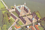 Click here to enlarge image and see more about item cs3623: Frederiksborg Castle Denmark Postcard cs3623