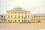 Click here to enlarge image and see more about item cs3681: Exterior Pavlovsk Palace Russia
