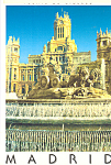 Click here to enlarge image and see more about item cs3700: Fuente De Cibeles, Madrid, Spain