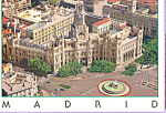 Click here to enlarge image and see more about item cs3715: Plaza De Cibeles, Madrid
