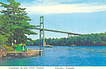 Click here to enlarge image and see more about item cs3729: 1000 Island Bridge, Ontario, Canada