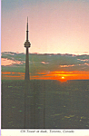 Click here to enlarge image and see more about item cs3746: CN Tower, Toronto,Ontario, Canada