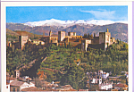 Click here to enlarge image and see more about item cs3787: Vista General Granada De La Alhambra Spain cs3787