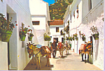 Click here to enlarge image and see more about item cs3794: Mijas Typical Street Costa del Sol Spain  cs3794