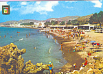 Click here to enlarge image and see more about item cs3801: Chanquete Beach Malaga Costa del Sol Spain cs3801