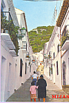 Click here to enlarge image and see more about item cs3803: Mijas Costa del Sol Spain Typical Street   cs3803